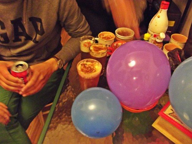 Micheladas y globos